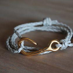 Bracelet cheville homme cuir